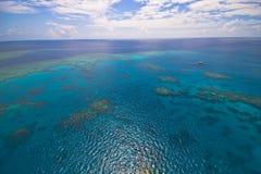 ciel grand de récif de barrière Images libres de droits