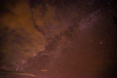 Ciel la nuit photographie stock