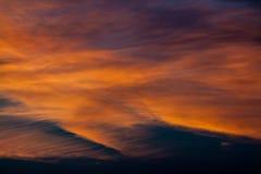 Ciel merveilleux Photo stock