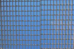 Ciel mis en cage Image libre de droits