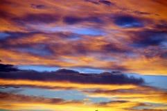 Ciel multicolore Images libres de droits