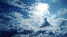 Ciel naturel Photos stock