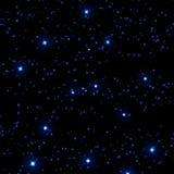 Ciel nocturne illustration stock