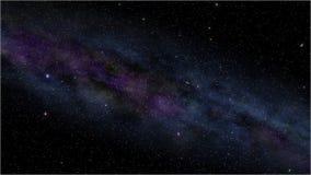 Ciel nocturne avec des étoiles Photo libre de droits