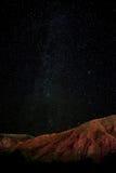 Ciel nocturne d'étoile images stock