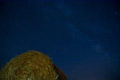 Ciel nocturne de la terre Photos libres de droits