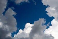 Ciel-nuages Images libres de droits