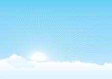 Ciel nuageux Photos stock