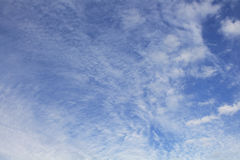 Ciel nuageux Photographie stock