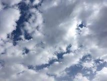 Ciel nuageux bleu Nature de Vladivostok nuages Bleu-gris Photo libre de droits