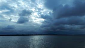 Ciel nuageux de matin photographie stock