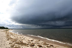 Ciel orageux Image libre de droits