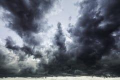 Ciel orageux Photos stock