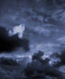 Ciel orageux Photographie stock