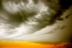 Ciel orageux Image stock
