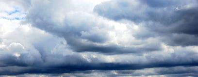 Ciel orageux d'été Photographie stock libre de droits