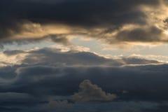 Ciel orageux excessif Photo libre de droits