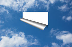 Ciel ouvert Image libre de droits