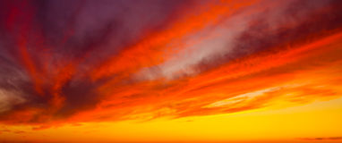 Ciel parfait Photographie stock libre de droits