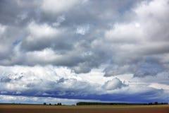 Ciel pluvieux images libres de droits