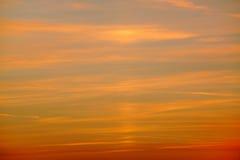 Ciel réglé 01 de Sun Image stock