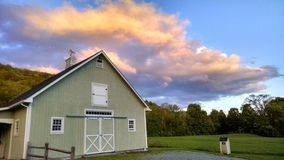 Ciel rural du Vermont Photo stock