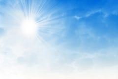 Ciel solaire Photo stock