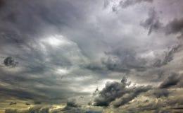 Ciel sombre photographie stock libre de droits