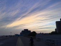 Ciel sur Brighton Beach Photos libres de droits