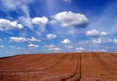 ciel + terre photographie stock