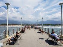 Ciel toscan Image libre de droits