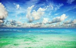 Ciel tropical Photographie stock