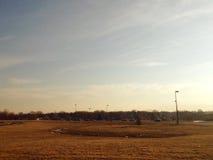 Ciel vide du Michigan Image libre de droits