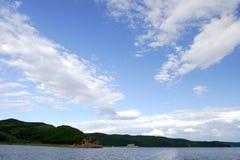 Cieli & laghi fotografie stock