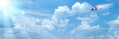 Cieli blu Fotografia Stock Libera da Diritti