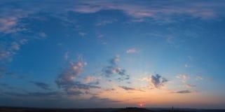 Cieli blu Fotografia Stock