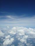 Nuvole lanuginose Fotografia Stock Libera da Diritti