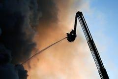 Cieli caldi Fotografia Stock