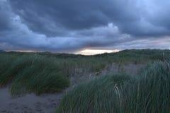 Cieli costieri lunatici Fotografia Stock Libera da Diritti