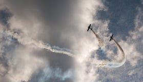 Cieli di Airshow Fotografia Stock