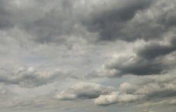 Cieli di Cloudly Immagine Stock