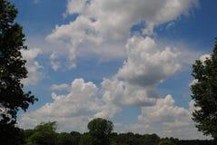 Cieli di Memorial Day Immagini Stock