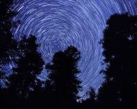 Cieli di Swirly fotografia stock libera da diritti