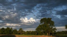Cieli drammatici in Oklahoma orientale Immagini Stock Libere da Diritti