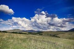 Cieli e nuvole Immagine Stock Libera da Diritti