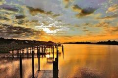 Cieli nuvolosi Fotografie Stock Libere da Diritti