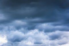 Cieli nuvolosi Immagini Stock