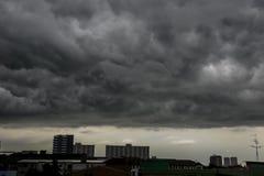 Cieli nuvolosi Fotografia Stock Libera da Diritti
