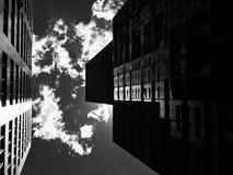 Cieli scuri e riflessioni Immagine Stock Libera da Diritti