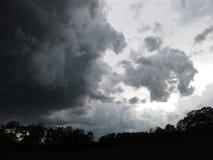 Cieli tempestosi in Washington DC Fotografia Stock